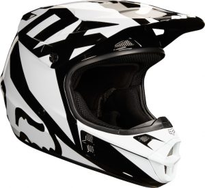2018 Fox V1 YOUTH Race Helmet Black