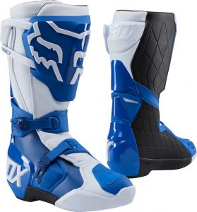 2018 Fox 180 Boot Blue