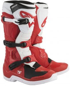 2018 Alpinestars Tech 3 Boots Red/White