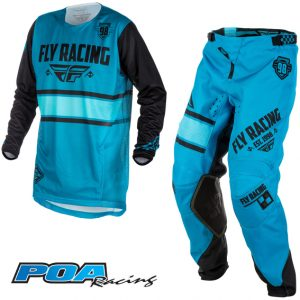 2018 Fly Kinetic Era Kit Combo Blue/Black