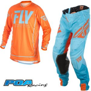 2018 Fly Lite Hydrogen Kit Combo Orange/Blue