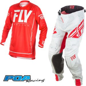 2018 Fly Lite Hydrogen Kit Combo Red/Grey