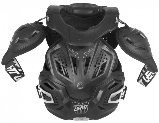 p-116738-LBR-Neckvest-Fusion-3-Black-Front_new Leatt Fusion 3.0 Adult Neck Brace and Body Protector Review