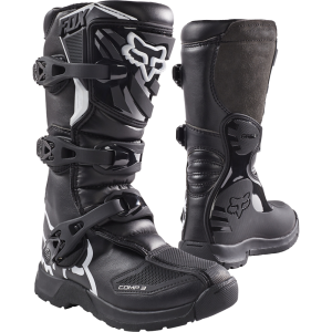 2018 Fox Comp 3 YOUTH Boot Black