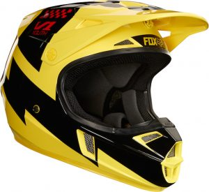 2018 Fox V1 YOUTH Mastar Helmet Yellow