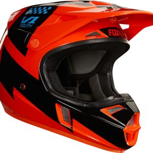 2018 Fox V1 YOUTH Mastar Helmet Orange