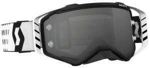 2018 Scott Prospect Goggle Black/White – Light Sensitive Grey Lens
