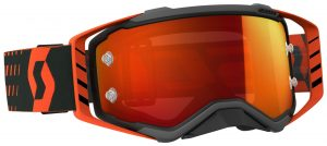 2018 Scott Prospect Goggle Black/Orange – Orange Chrome Lens