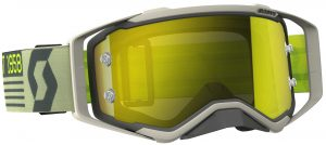 2018 Scott Prospect Goggle Grey/Beige – Yellow Chrome Lens