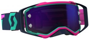 2018 Scott Prospect Goggle Teal/Pink – Purple Chrome Lens