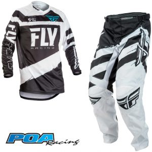 2018 Fly F-16 YOUTH Kit Combo Grey/Black