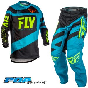 2018 Fly F-16 YOUTH Kit Combo Blue/Black