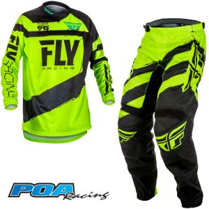 2018 Fly F-16 Kit Combo Black/Hi-Vis