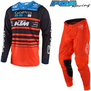 2018 Troy Lee YOUTH GP Air Streamline Team KTM Kit Combo Navy/Orange