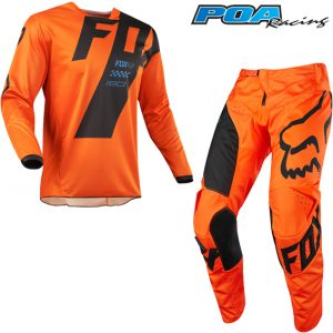 2018 Fox 180 YOUTH Mastar Kit Combo Orange