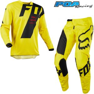 2018 Fox 180 YOUTH Mastar Kit Combo Yellow