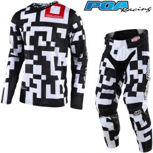 2018 Troy Lee YOUTH GP Air Maze Kit Combo White/Black