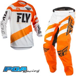 2018 Fly F-16 YOUTH Kit Combo Orange/White
