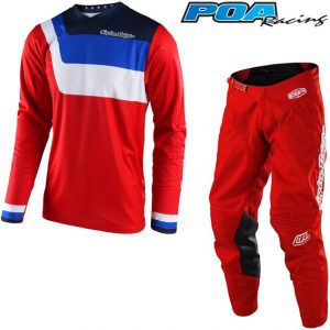 2018 Troy Lee GP Air Prisma Kit Combo Red