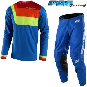 2018 Troy Lee YOUTH GP Prisma Kit Combo Blue