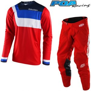 2018 Troy Lee YOUTH GP Prisma Kit Combo Red