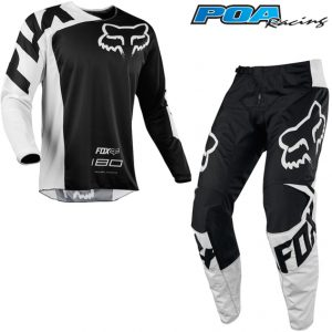 2018 Fox 180 YOUTH Race Kit Combo Black