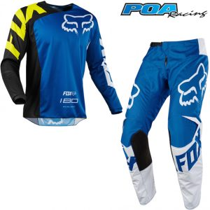 2018 Fox 180 YOUTH Race Kit Combo Blue