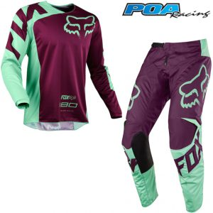 2018 Fox 180 Race Kit Combo Green