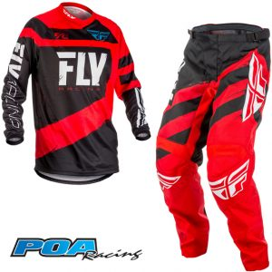 2018 Fly F-16 Kit Combo Red/Black