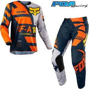2018 Fox 180 KIDS Sayak Kit Combo Orange