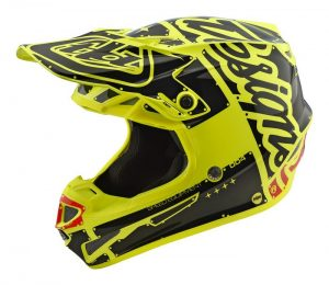 2019 Troy Lee YOUTH SE4 Factory Helmet Yellow