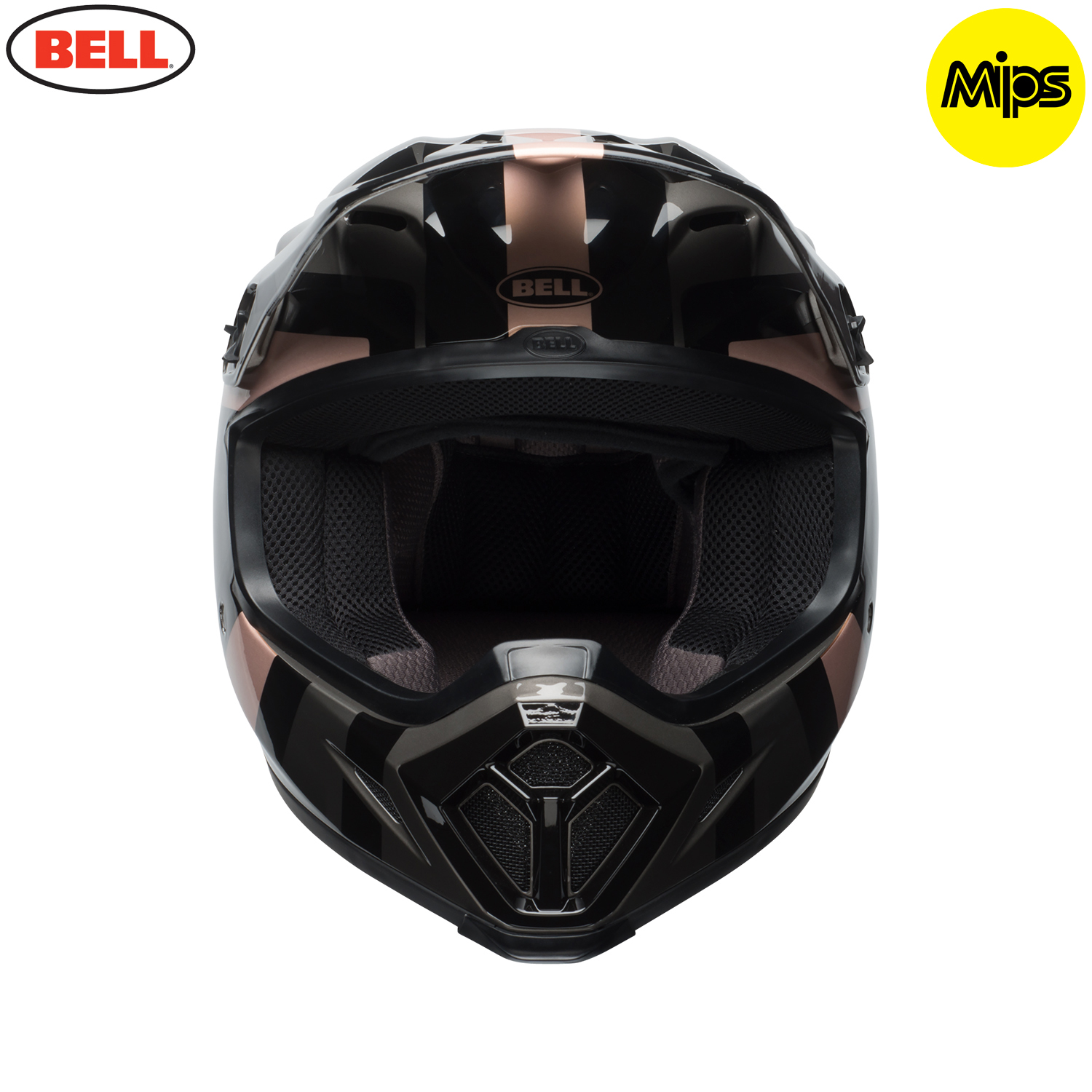 2018 bell mx 9 mips helmet marauder copper black. Black Bedroom Furniture Sets. Home Design Ideas