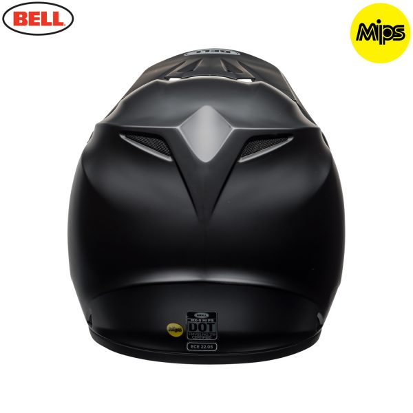 Bell MX-9 Mips Helmet Matte Black - bell mx 9 mips off road helmet matte black b copy