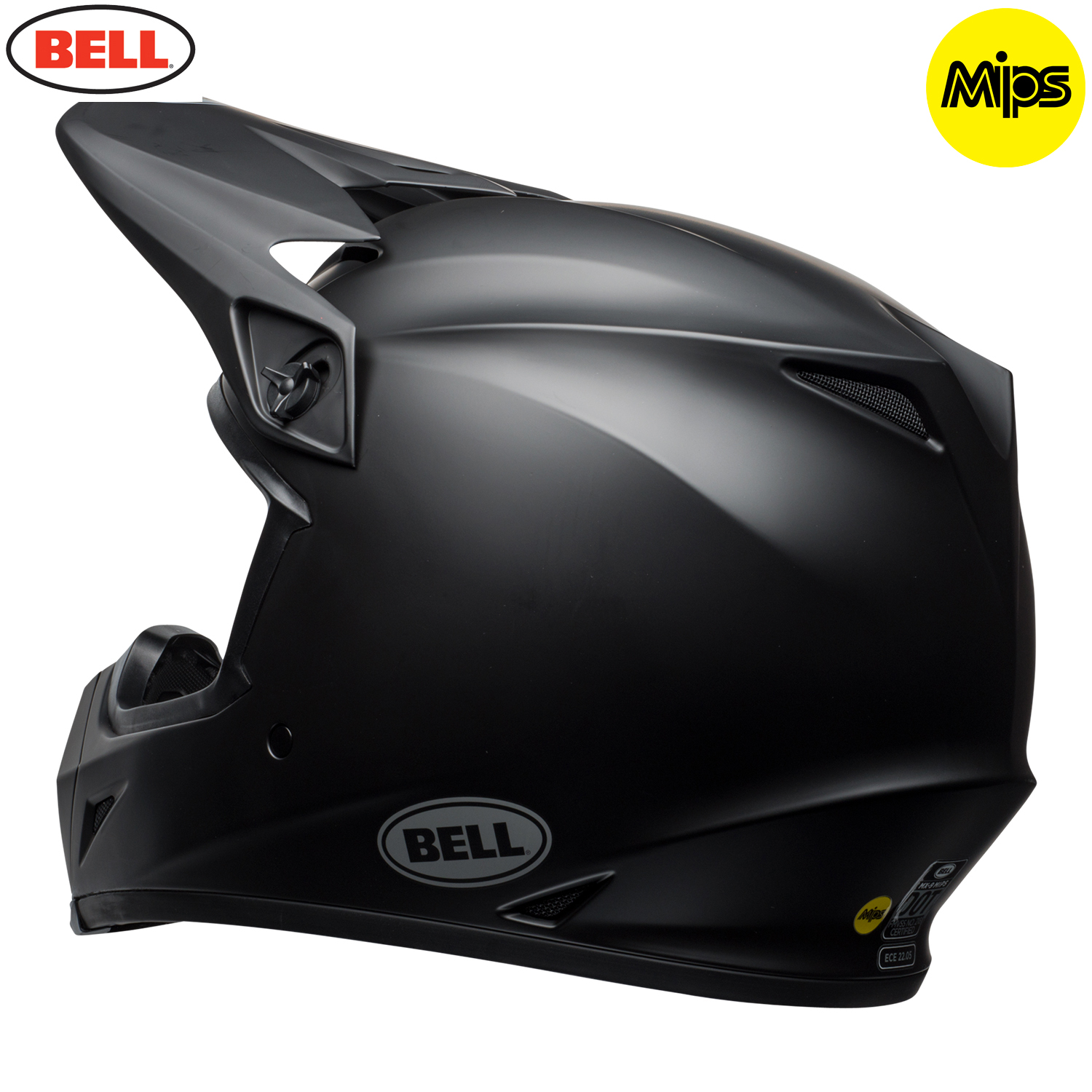 2018 bell mx 9 mips helmet matte black bell mx helmets. Black Bedroom Furniture Sets. Home Design Ideas
