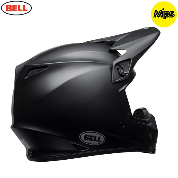 Bell MX-9 Mips Helmet Matte Black - bell mx 9 mips off road helmet matte black br copy