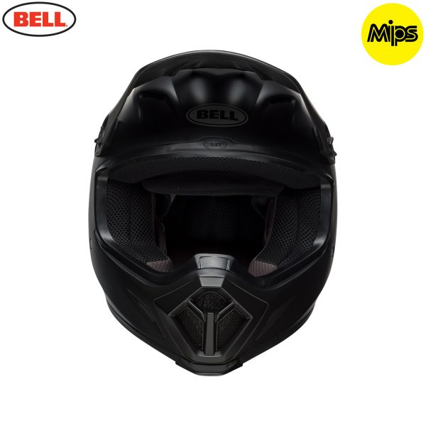 Bell MX-9 Mips Helmet Matte Black - bell mx 9 mips off road helmet matte black f copy