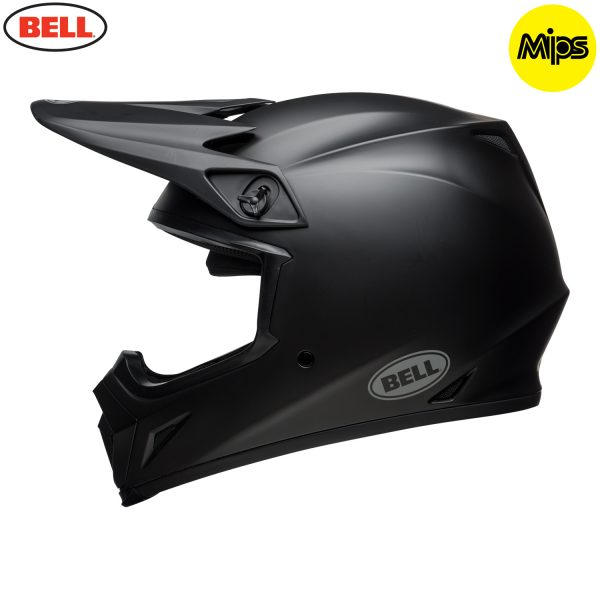 Bell MX-9 Mips Helmet Matte Black - bell mx 9 mips off road helmet matte black l copy
