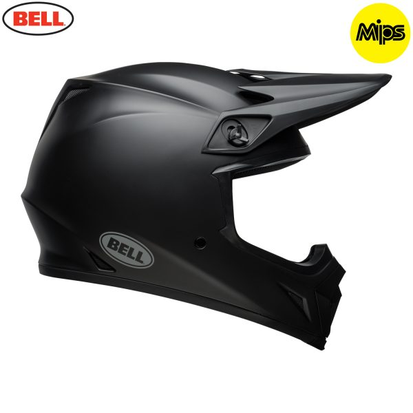 Bell MX-9 Mips Helmet Matte Black - bell mx 9 mips off road helmet matte black r copy