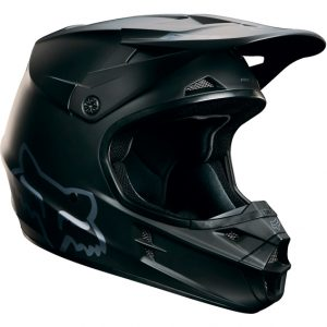 2018 Fox V1 YOUTH Matte Black Helmet