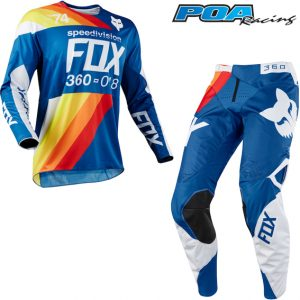 2018 Fox 360 Draftr Kit Combo Blue
