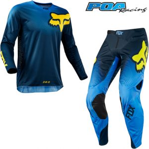 2018 Fox 360 Viza Kit Combo Blue