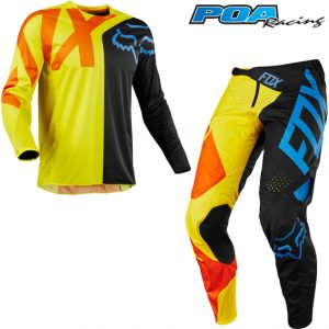 2018 Fox 360 Preme Kit Combo Black/Yellow