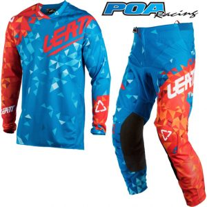 2018 Leatt GPX 4.5 Kit Combo Blue/Red