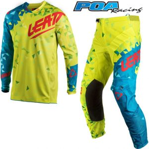2018 Leatt GPX 4.5 Kit Combo Lime/Teal