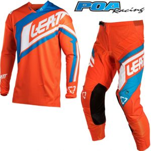 2018 Leatt YOUTH GPX 2.5 Kit Combo Orange/Denim