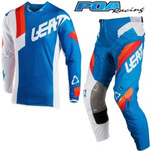 2018 Leatt YOUTH GPX 3.5 Kit Combo Blue/White