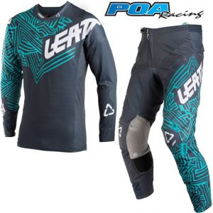 2018 Leatt GPX 5.5 Kit Combo Grey/Teal