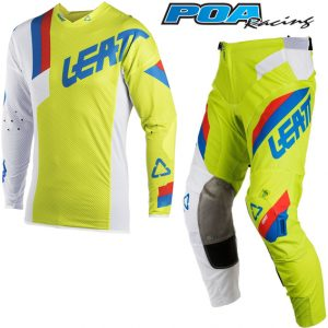 2018 Leatt GPX 5.5 Kit Combo Lime/White