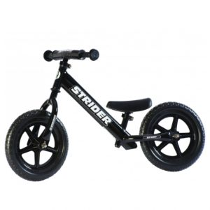 Strider Sport Balance Bike Black