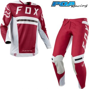 2018 Fox Flexair Preest Kit Combo Dark Red